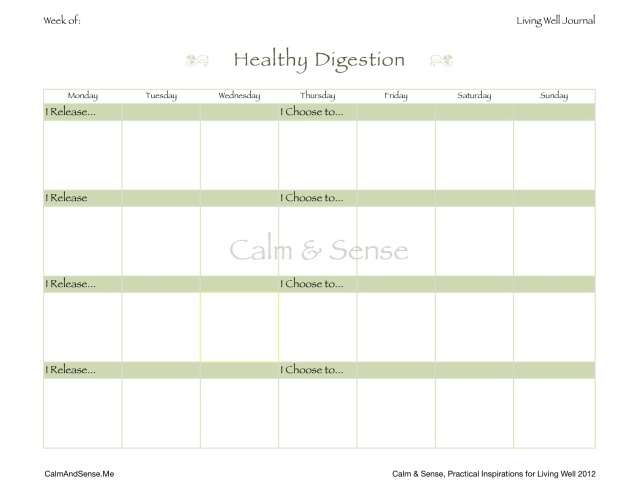 Living Well Journal Page:Healthy Digestion JPG from Numbers Preview
